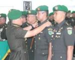 Pangdam Pimpin Acara Tradisi Korps dan Serah Terima Pejabat Kodam