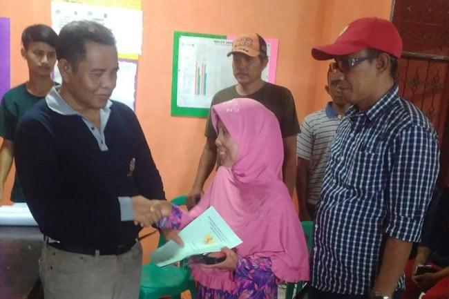 BPN Kab Tangerang Bagikan Sertifikat Gratis Untuk Warga Gembong