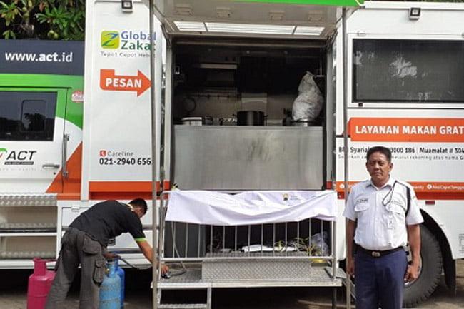 ACT Siapkan Seribu Porsi Makanan Untuk Buka Puasa Jamaah Masjid JIC