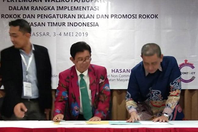 Instansi Pemerintah di Indonesia Timur Terapkan Kawasan Tanpa Rokok