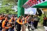 Kapolres Muna Lepas Ratusan Komunitas Motor Trail Dalam ODEW2B
