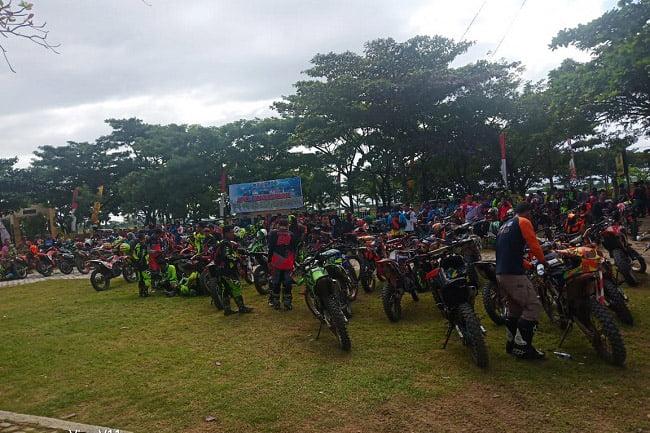 367 Anggota Komunitas Motor Trail di ODEW2B