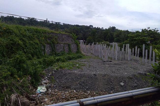 Diduga PT Bias Sinar Abadi Tak Tuntaskan Proyek Box Cluvert Bandara Rendani