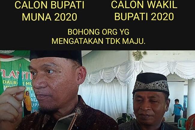 Dokter Baharuddin Pasti Maju di Pilkada Muna 2020