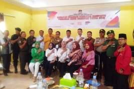KPUD PALI Adakan Kegiatan Evaluasi Fasilitas Kampanye Pemilu 2019