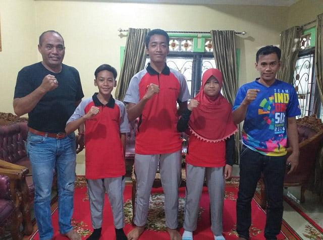 Kabupaten Kapuas Kirim Tiga Atlit Sepatu Roda Ikuti Pra PON di Bekasi