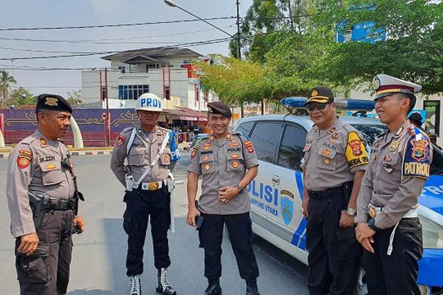 Polres Lampung Utara Gelar Operasi Zebra Krakatau 2019