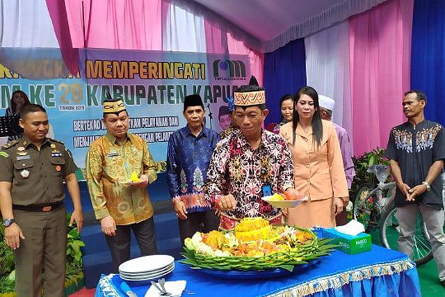 Kabupaten Kapuas Peringati Hari Ulang Tahun PDAM Ke-29