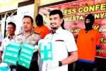 Sat Narkoba Polresta Banyuwangi Bekuk Sindikat Pengedar Narkoba