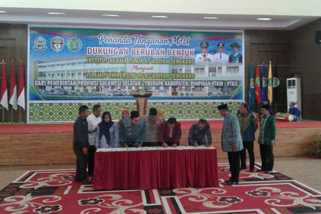IAI Asadiyah Siapkan Diri Jadi Islamic University of Asadiyah Sengkang