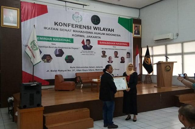 Pembukaan Konferwil Ismahi Jakarta