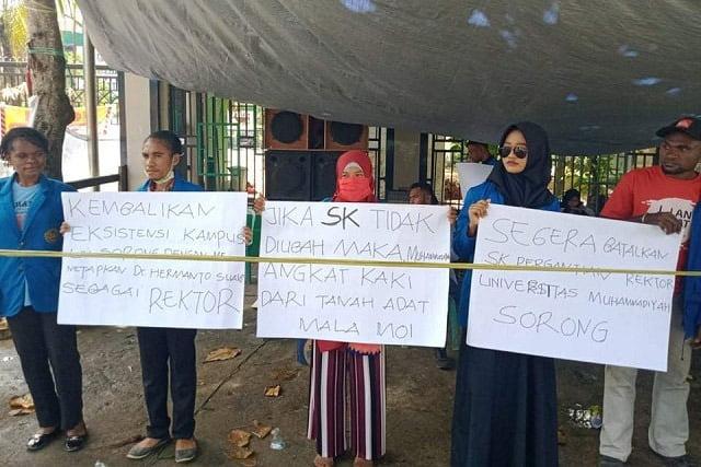 Angki Dimara: Muhammadiyah Silahkan Angkat Kaki Dari Tanah Papua