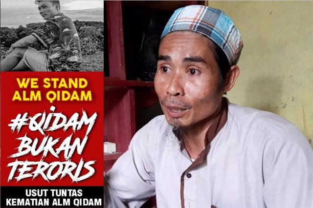 Irwan Muwance: Anak Saya Qidam Bukan Teroris, Dia Dibunuh Polisi