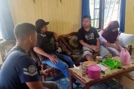Gilang Fetish Kain Jarik Ditangkap Polisi di Kapuas