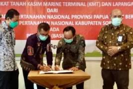 Kakanwil BPN Papua Barat Dukung Kelancaran Operasional SKK Migas dan KKKS