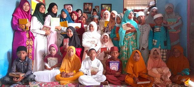 TPQ Ar Rahman Hadir Bentuk Pribadi Berakhlaqul Karimah dan Insan Yang Qur'ani