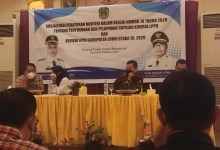Photo of Bupati Lutra Buka Sosialisasi Permen 18 Tahun 2020 di Hotel Grand Town Makassar