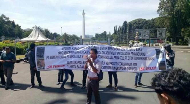 Hari ini, LSM Forcin Gelar Aksi di Depan Istana dan Mabes Polri