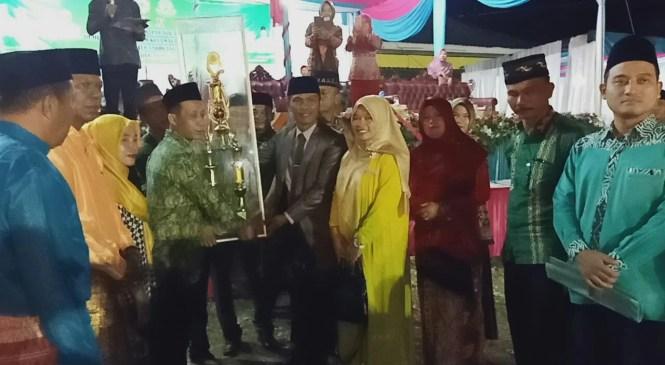 Desa Semurung Raih Juara Umum MTQ Tingkat Kecamatan Air Hitam