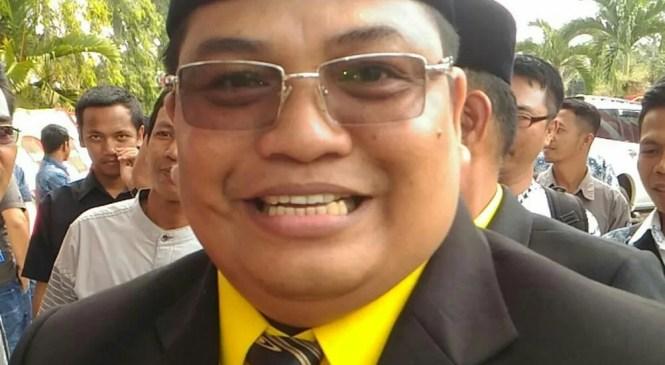 Ketua DPRD Kabupaten Merangin di Jabat Herman Efendy Dari Partai Golkar