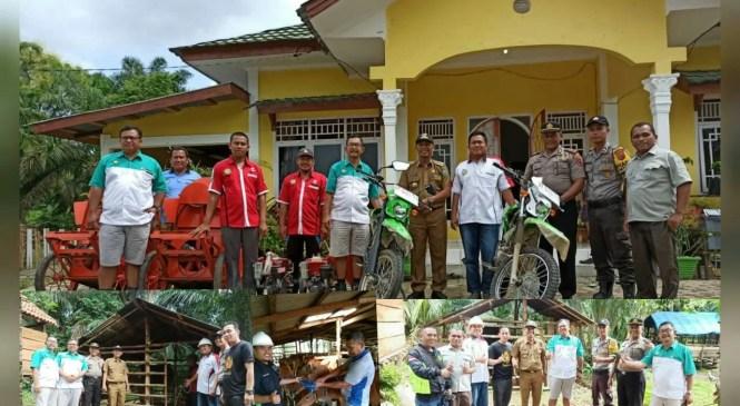 PT Sinar Mas Group, Beri Penghargaan DMPA KARHUTLA 9 Desa di Sarolangun