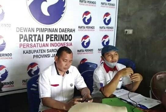 M.Husin, Nahkoda DPD Perindo Sarolangun