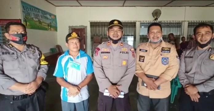 Polsek Pamenang Adakan Kegiatan Pelatihan Pengolahan dan Pemanfaatan Limbah Kotoran Hewan.