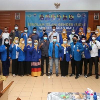 Rudi Buka Sekolah Islam Gender Korps PMII Putri