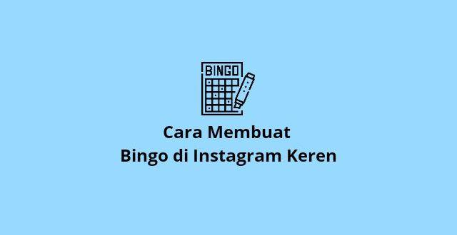 Cara Membuat Template Bingo Instagram