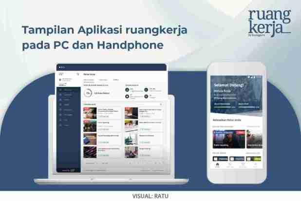 Aplikasi ruangkerja di hp