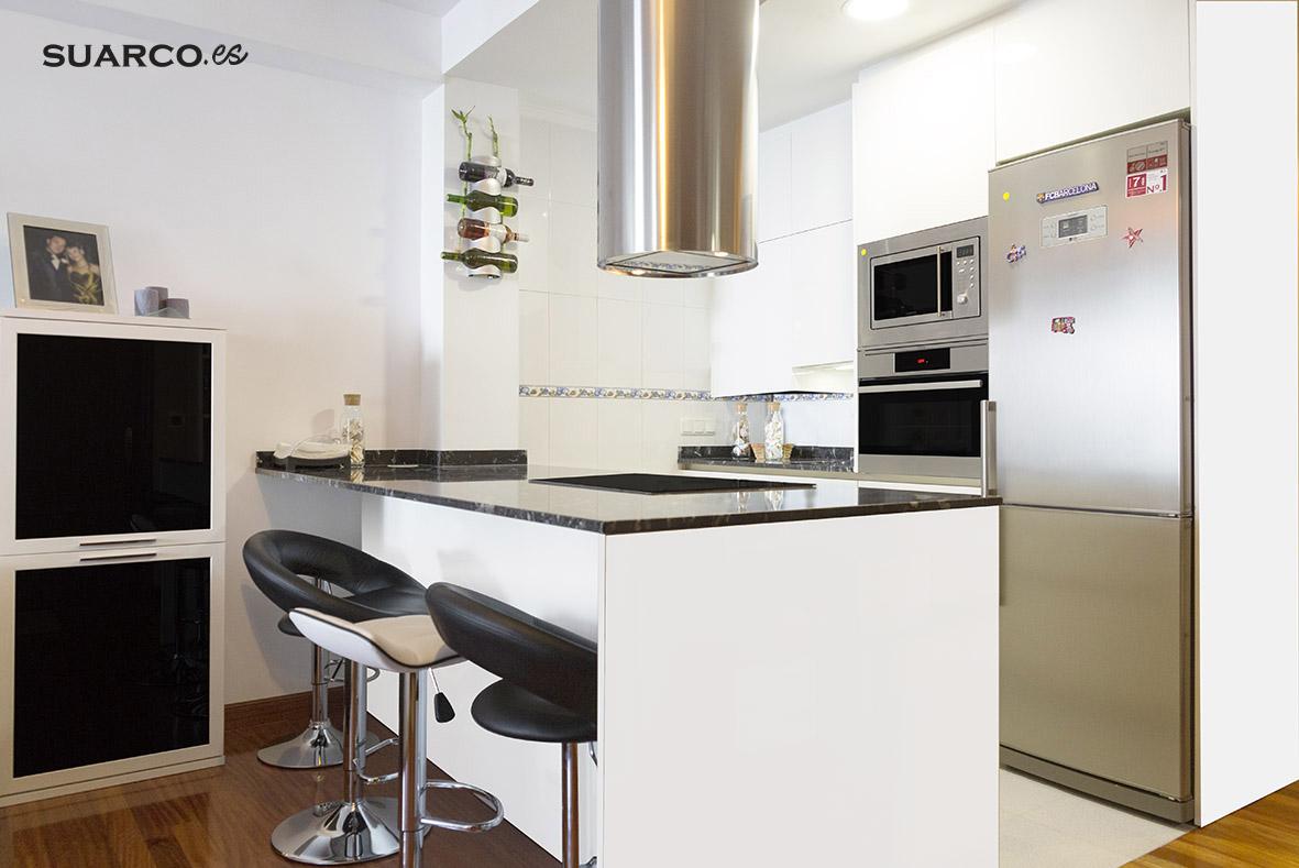 Diseño Muebles Cocina Tipo Americano | 50 Fotos De Cocinas ...