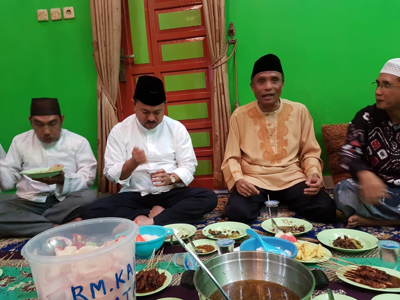 Sultan Banjar Bersama Tokoh Muhammadiyah