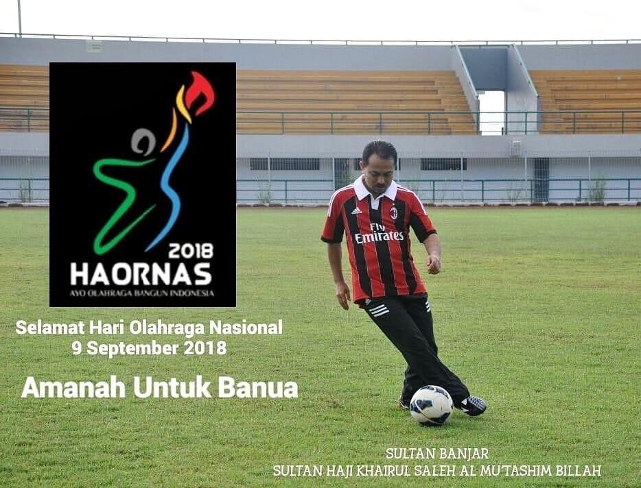 Sultan Banjar Bertekad Majukan Olahraga