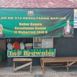 Peringati 10 Muharram, Kesultanan Banjar Gelar Bubur Asyura