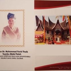 Sultan Banjar Hadiri Penobatan Sultan Pagaruyung Sumatra Barat