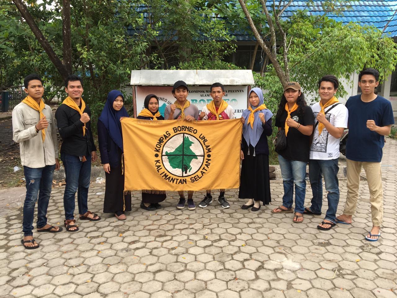 """Kompas """"BORNEO"""" Unlam Ikut Sukseskan TWKM ke-30 di Padang"""