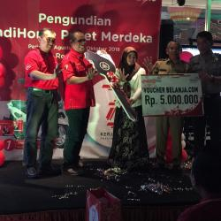 PT Telkom Undi Pemenang Promo IndiHome Paket Merdeka