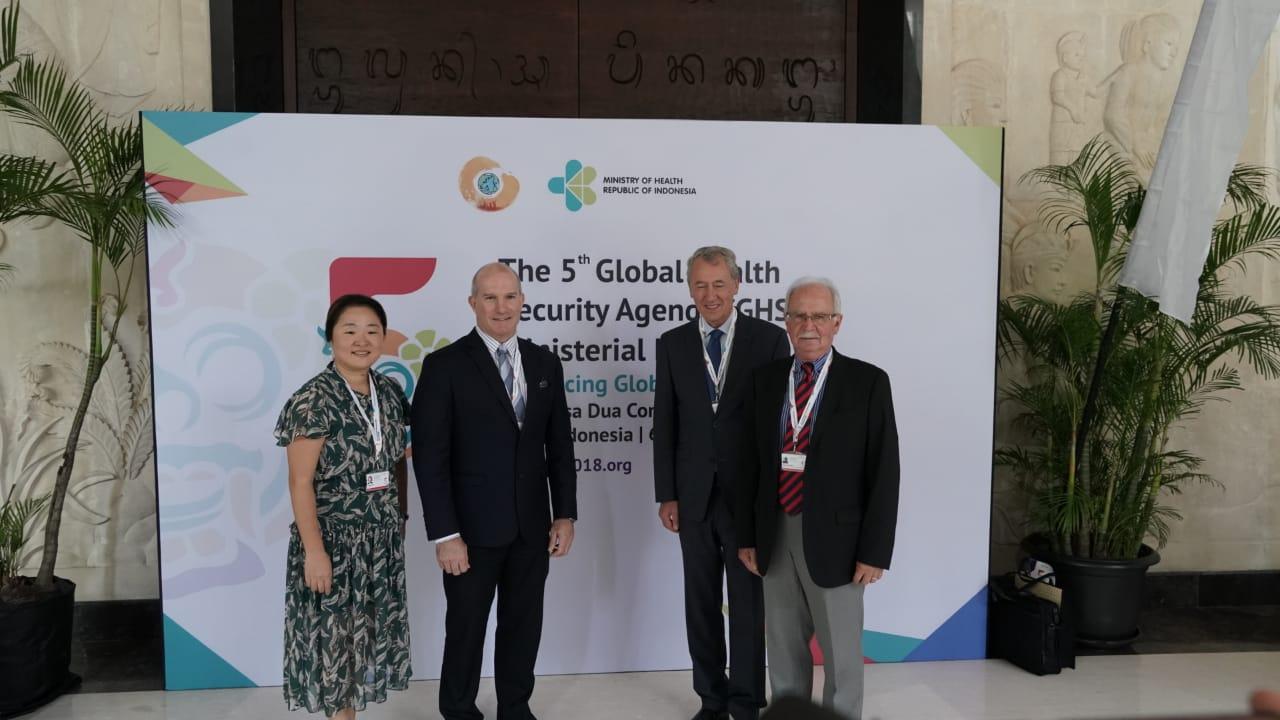Global Health Security Agenda (GHSA) ke-5 di Bali Bahas Ancaman Penyakit zoonosis