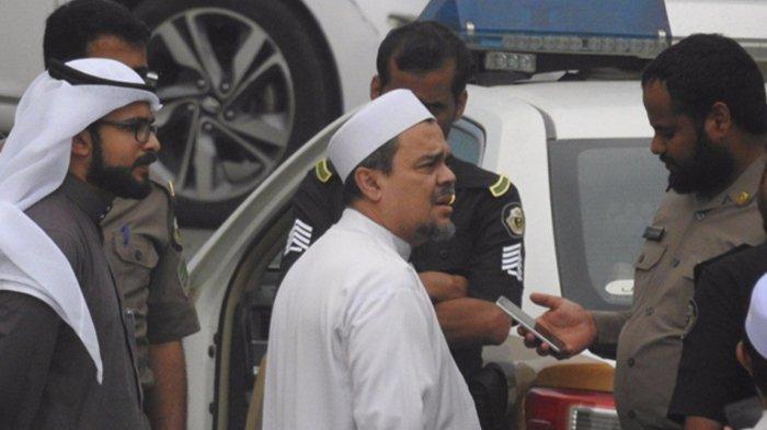 Habib Rizieq Minta Keamanan Saudi Ungkap Operasi Intelijen pada Dirinya