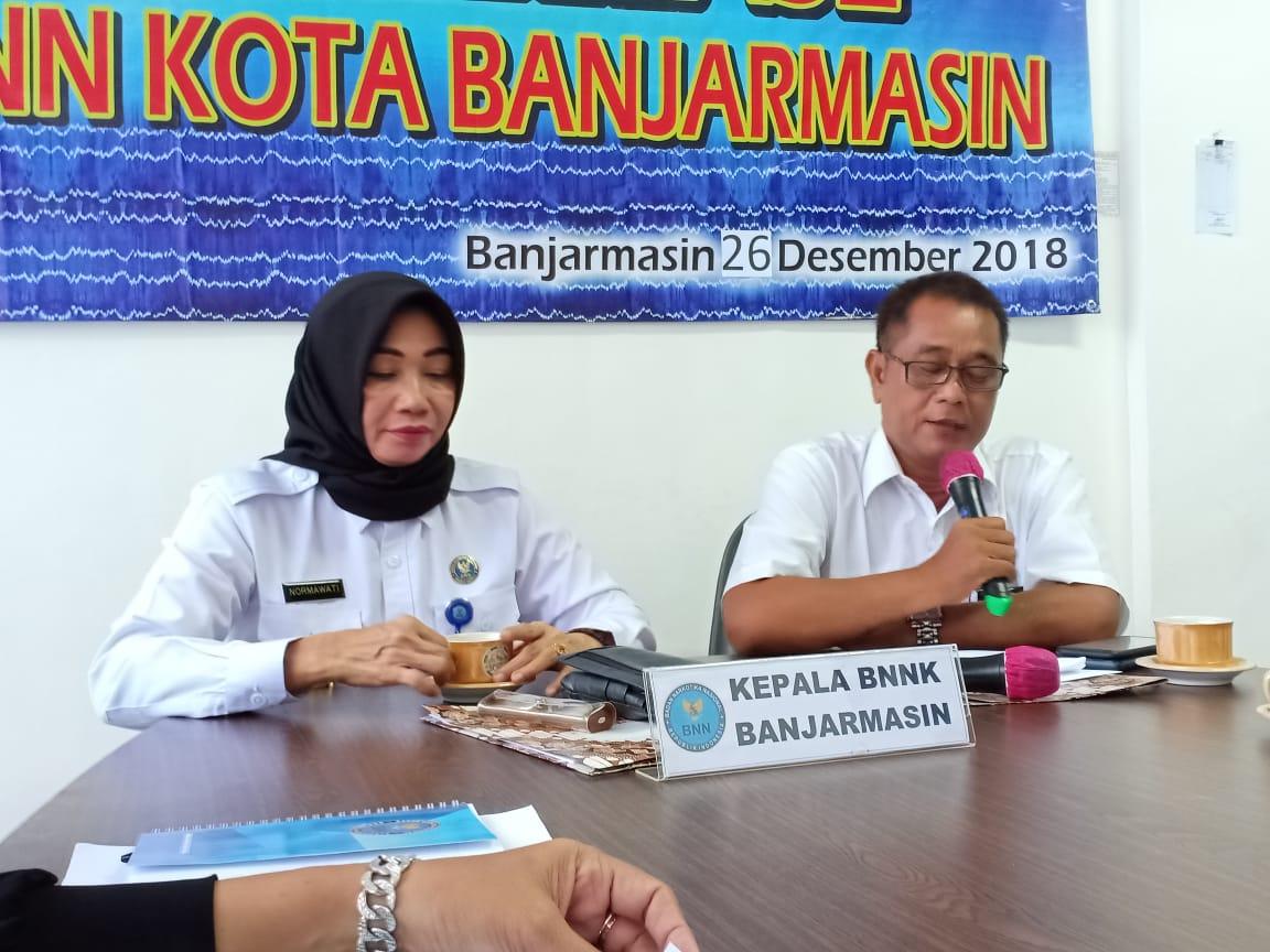 5 Bandar Narkoba Dibekuk BNNK Banjarmasin