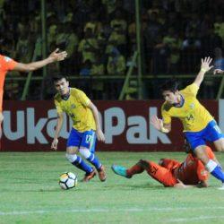 Tendangan `Geledek', Barito Putra Taklukan Borneo FC
