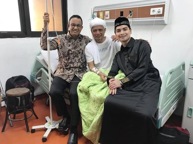 Kesehatan Ustadz Arifin Ilham Dikabarkan Menurun