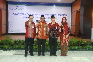 Agus Syabarrudin Resmi sebagai Direktur Utama Bank Kalsel