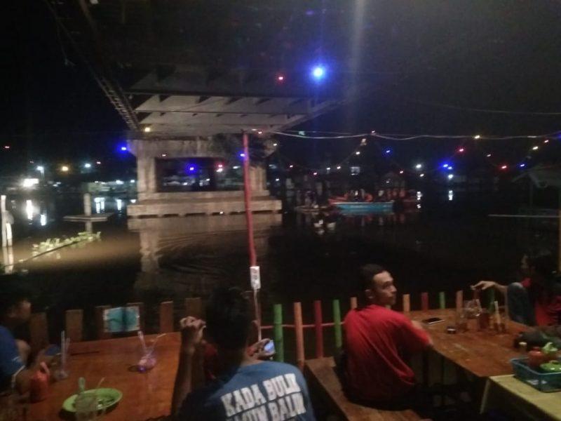 Sampai Malam, Rescue Gabungan Masih Cari Satu Pencuri Tenggelam