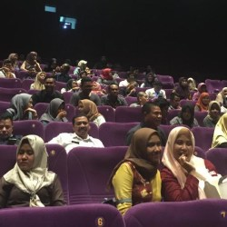 Film Perjuangan Relawan Demokrasi Sapa Penonton Banjarmasin