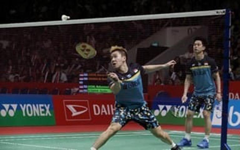 Marcus/Kevin ke Perempat Final Singapura Terbuka