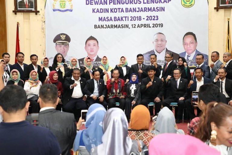 Kadin Ingin Bermitra dengan Pemerintah Kota Banjarmasin