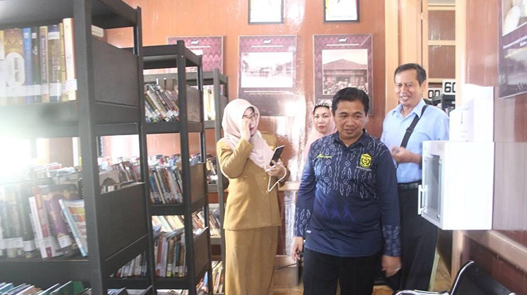 Ibnu Minta Perpustakaan Dimanfaatkan Warga Banjarmasin