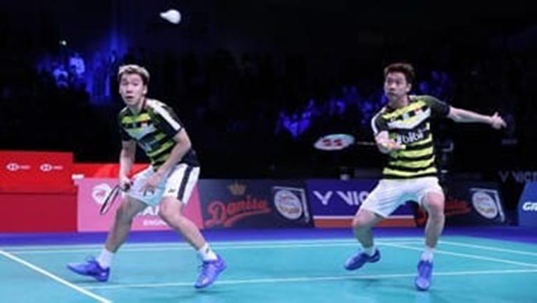 Kevin/Marcus Lolos ke Perempat Final Kejuaraan Asia