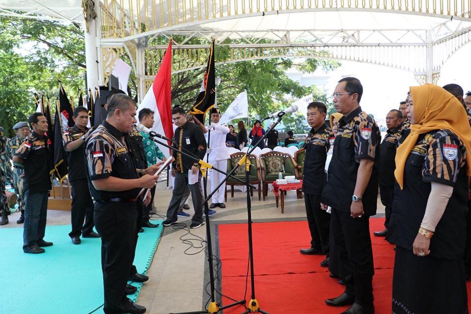 H Hermansyah Diamanahi sebagai Ketua DPW PEKAT IB Kalsel